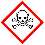 Safety pictogram for class I pesticides