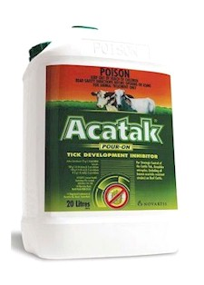 Today's ACATAK 20 L pack with basically the same label as in 1994
