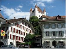 View from the old town of Thun